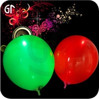 2015 Brilliant Holiday and Event Article LED Flying Flash Balloon with Custom Logo