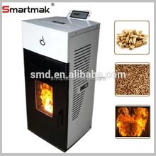 2015 nouveau Design Smartmak gros italienne de la biomasse poêle à granulés avec four, Granulés de bois cheminée