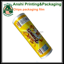 Print foil potato chips packaging film/peanuts packaging 0PP film