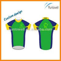 Sublimation cycling clothes bicycle wear / crane sportswear
