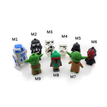 Hot pendrive usb 64gb usb flash 32g flash drive Star Wars combination pen drive Personalized Gifts usb stick free shipping