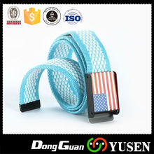 Wholesale ribbon strapping Canvas Belts With Factory Supply