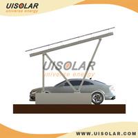 17 Feet Wide 2 cars Aluminum Z-type Solar Carport
