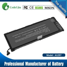 a1309 rechargeable laptop battery for MacBook a1297