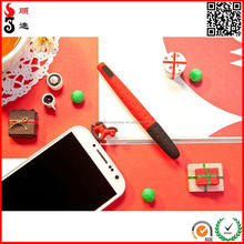 2015 novelty multi-functional soft silicon pen