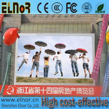 Electronic digital advertising outdoor HD P10 full color led sign board