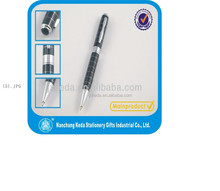 black square plating advertising ballpoint pen