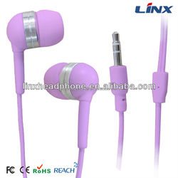 High quality Earphone fashionable style earphone in-ear stereo earphone