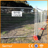Hot Dipped Galvanized Temporary Metal Fence Panels for construction site