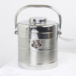 Easily Carry Stainless Steel Lunchbox