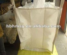pp big bag/ jumbo bag/ bulk bag with filling spout and discharge spout