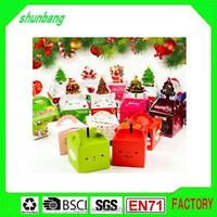 2015 wholesale custom food grade paperboard & christmas paper cake box