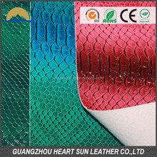 guangzhou leather 2015 new product shoes material