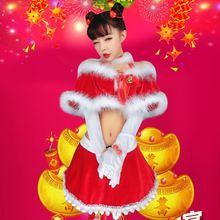 Bühne& tanzabnutzung weihnachten leistung kleidung prinzessin kleid sexy Jazztanz kleidung anzug