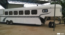6 Horse New Style Gooseneck Trailer Without living Quarter