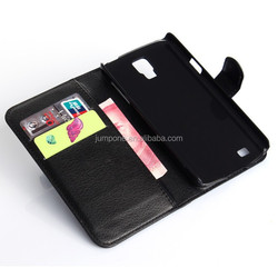 Fashion Litchi Pattern Lychee design Credit Card Wallet Stand Flip leather case for samsung galaxy i9295 S4 Active