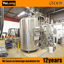 Supply 1000L high quality stainless steel beer serving tanks for brewery