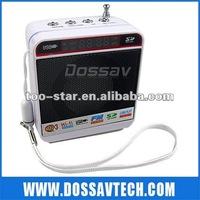 Promotion! 2.0 Small usb speaker with FM radio