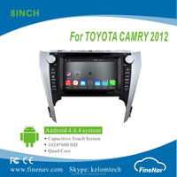 """8"""" Android 4.4.4 Car DVD player with Quad-core 1024*600 Resolution 16GB Flash Mirror Link for Toyota Camry 2012"""