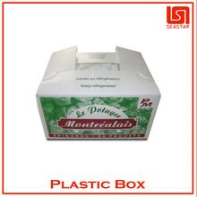 Hot sale high quality corrugated custom fruit packing box plastic