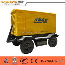 Trailer Diesel Sound Proof Generator/ Mobile Trailer Genset