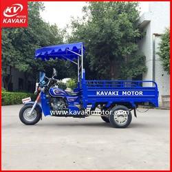 KAVAKI Blue Cargo Motor Tricycle /Three Wheel Tranporter/Scooter for Farm
