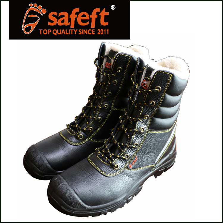 2015 black steel toe cap army snow boots buy army snow