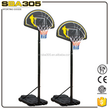 SBA019 easy to assemble basketball stand goal