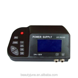 Digital Tattoo Power Supply High Quality Tattoo Power Supply LCD Display With Plug cord to line tattoos gun