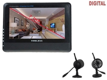 wireless 4ch dvr kits with 7 inch tft lcd monitor