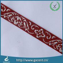 Colorful Nylon Jacquard Ribbon For Underwear