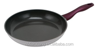 Aluminum ceramic coated die cast dazzling colorful frying pan
