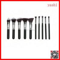 YASHI 2016 hot beauty cosmetic tool 10pcs kabuki makeup brush for sale