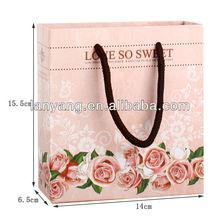 wedding or birthday love sweet gift paper bag