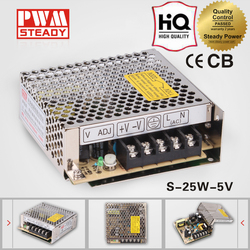High efficiency online shopping 5V 5A transformers led light switching cctv power supply