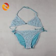 Custom swimwear hot sexy bikini triangle bikini cute girl lace bikini