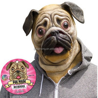 2015 newest hot selling high quality Animal costume Pug Mask /Dog mask