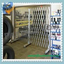 expanding aluminum metal iron sliding door gate