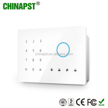 Iphone & Android app wireless/wired gsm smoke alarm system with Multi Language PST-GA242Q