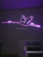 Nightclub equipment animation 2w rgb 1000mw laser stage lighting
