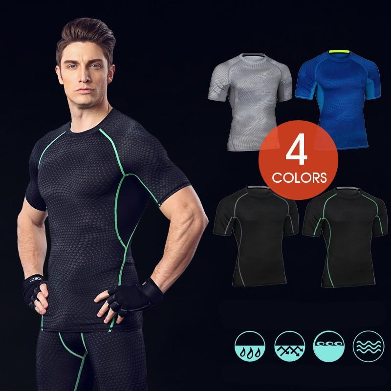 Custom Fitness Apparel Men's GYM Sport T Shirt Factory 2