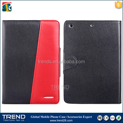 alibaba express 2 tone color folio pu leather case for ipad mini