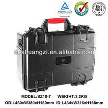 military standad anti-crush anti-shock hard plastic waterproof case for laptop
