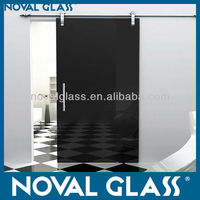 Tempered or Laminated Safety Decorative Glass Sliding Door