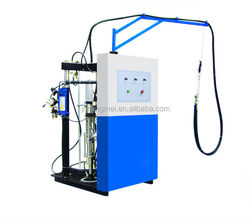 ST01 Silicone extruder with two air pumps for double glazing making