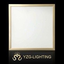 skylight led 48w panel light 600x600mm golden frame