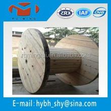 Carretéis de madeira para fios do cabo da corda