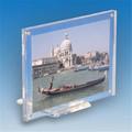 transparente de acrílico baratos de doble cara de marco de fotos