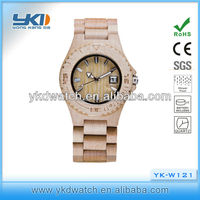 Hot watch wooden dial,all wood watch for sale 2015