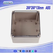 175*175*100mm Electrical ABS/PC IP66 Waterproof Enclosure With Clear Cover , Waterproof Box Series DS-AT-1717